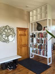 my ikea hack u003e kallax becomes a floor ceiling bookshel u2026 flickr