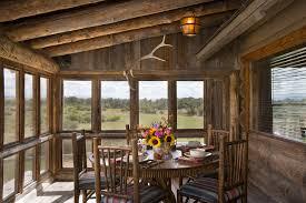 rustic screened porch houzz