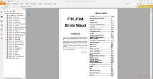 mitsubishi fuso 1992 95 fkfm service manual auto repair manual