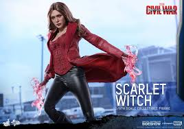 captain america civil war scarlet witch 1 6 scale movie