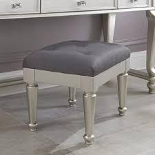 vanity accent stools birch lane