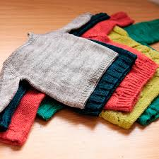 baby sweaters and the baby sweater tin can knits