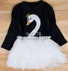 swan dress girl dress black swan dress white swan dresses pretty swan