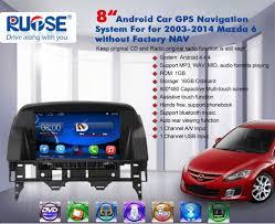 amazon com rupse for 2003 2014 mazda 6 car radio multimedia