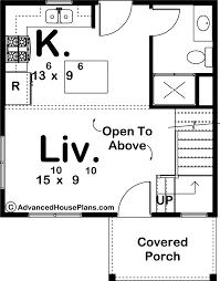 modern style cabin plan gray lake