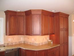 Kitchen Cabinet Cornice Crown Molding On Kitchen Cabinets Home And Interior