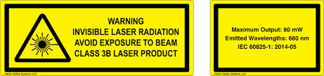 laser safety label standards clarion safety systems
