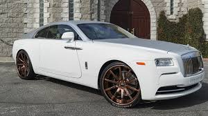 rolls royce ghost gold dub magazine rolls royce on rose gold forgiatos