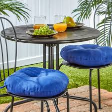 Patio Chair Cushions Set Of 4 by Amazon Com Greendale Home Fashions 15 Inch Round Indoor Outdoor