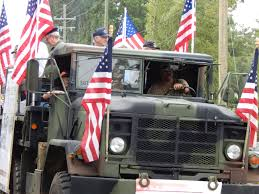 American Flag On Truck Chapin Sc