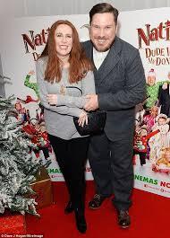 imogen thomas takes daughter ariana to nativity 3 premiere daily