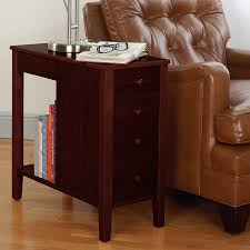 Living Room Table With Drawers No Room For A Table Table With Drawers End Table Levenger