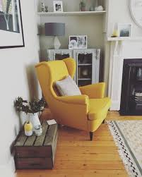 Ikea Living Room Set Strandmon Chair Ikea This Yellow Living Room 2