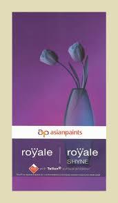 royale shade card