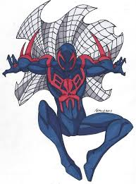 spider man 2099 drawings images reverse