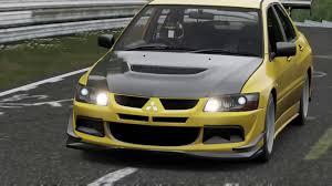 mitsubishi evo 8 modified evo 8 mr modified nurburgring forza 7 youtube