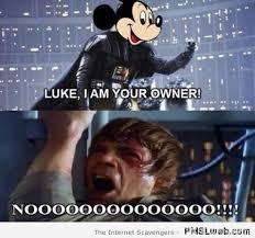 Luke Meme - funny mickey mouse and luke skywalker meme pmslweb