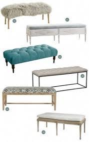 upholstered bench for end of bed foter