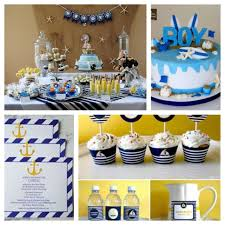 nautical theme baby shower decor nautical baby shower boy boat