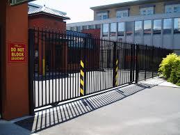 gate and fence slide gate operators steel sliding gates sliding