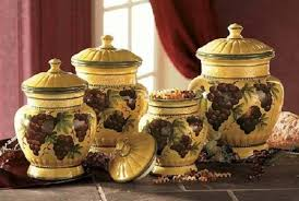 grape canister sets kitchen kitchen designs grape glass ceramic warm kitchen wall candlesin