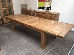 Solid Oak Furniture Oxford Solid Oak Extending Dining Table 8ft Oak Furniture Oakita