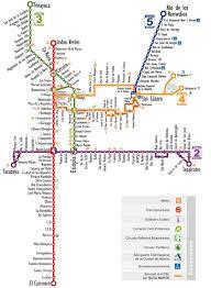 Metro La Map Map Of Mexico City Metrobus Mexibus U0026 Trolleybus Stations U0026 Lines