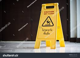 Wet Floor Images by Wet Floor Sign Stock Photo 143614303 Shutterstock