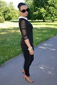 Black Blouse With White Collar White Zara Blouses Black House Jeans Carrot Orange Zara Heels