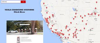 Supercharger Map Tesla Supercharging Station Traveling In Lone Pine