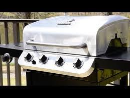 char broil performance 475 4 burner cabinet gas grill char broil performance 4 burner gas grill youtube