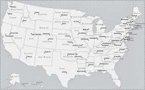 Blank Map Of Mid Atlantic States by Northeastern Us Blank Map