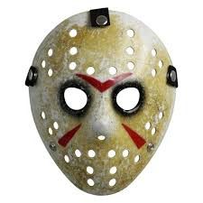 Jason Halloween Costume Best Horror Mask Friday The 13th Costume Prop Hockey Mask