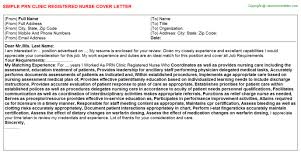 sample nurse cover letters letter easy template pixsimple cover