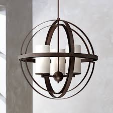Sphere Ceiling Light Morris 21 Wide 3 Light Bronze Sphere Pendant Light 8g458