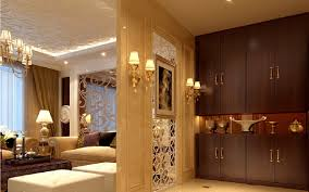 3d design partition and wall cabinet 3d house