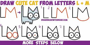 how to draw cats step by step easy geborneo club geborneo club