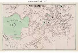 Franklin Ma Map Old Maps Of Northampton