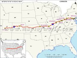 baltimore routes map us interstate 70 i 70 map cove fort utah to baltimore maryland