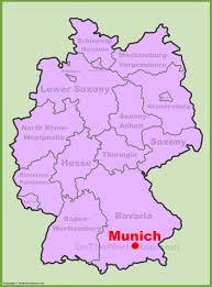map germany munich maps germany maps of munich münchen
