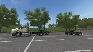 Seeking Trailer Fr Kenworth T880 And Trailers V1 0 For Fs2017 Farming Simulator 17