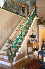 560 best christmas stair decor images on pinterest stairs