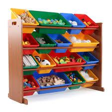 4 Tier Toy Organizer With Bins Furniture Toy Storage Shelves Tot Tutors Toy Organizer Toy