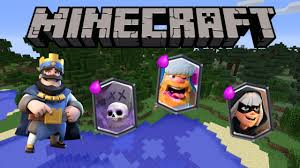 clash royale in minecraft legendary cards 1 11 no mods