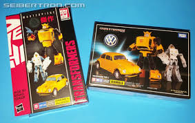 volkswagen bumblebee hasbro transformers masterpiece mp 08 bumblebee in hand comparison