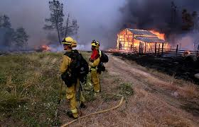 Wildfire Evacuation Stages by California Declares Emergency As Wildfires Gut Homes Force