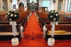 modern wedding pew decorations make wedding pew