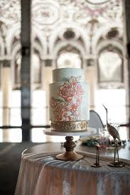 art nouveau wedding inspiration at old michigan theatre in