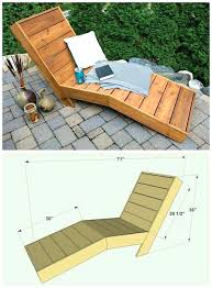 diy indoor chaise lounge chair plans build peerpower co all