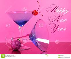 blue martini clip art pink theme happy new year party with vintage blue martini cocktail